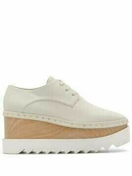 Stella McCartney Elyse 80mm platform shoes - Neutrals