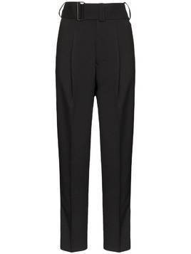 Hyke Tropical Motorcycle slim-leg trousers - Black