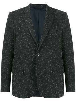 MP Massimo Piombo fitted wool blazer - Grey