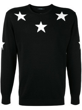 Guild Prime star embroidered sweater - Black