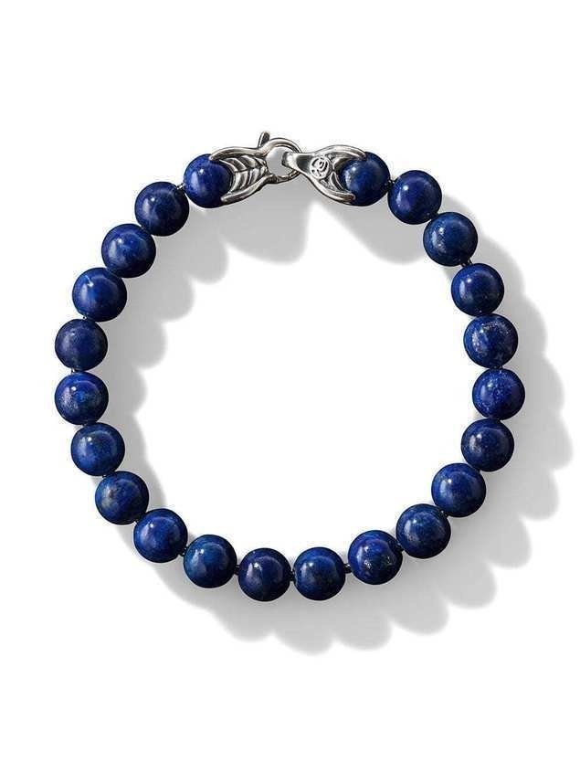 David Yurman spiritual bead bracelet - Blue