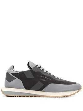 Ghoud colour block lace-up sneakers - Black