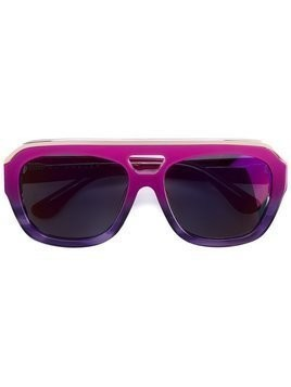 Dax Gabler pink 'N°04' sunglasses - Purple