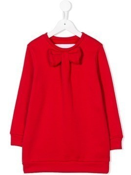 Touriste bow detail sweatshirt - Red