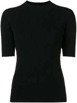 YMC ribbed knit top - Black