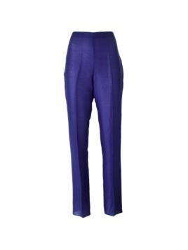 Romeo Gigli Pre-Owned straight leg trousers - Blue