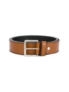 Ami Alexandre Mattiussi large belt - Brown