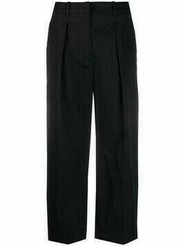 Christian Wijnants cropped tailored trousers - Black