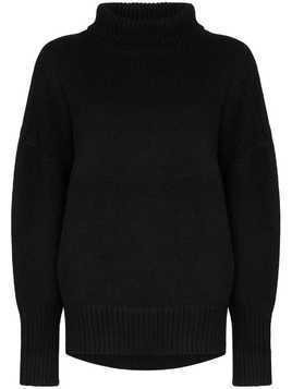 Hyke turtleneck knit jumper - Black