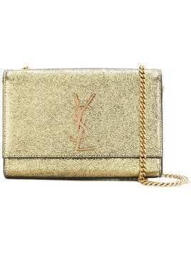 Saint Laurent medium Kate chain bag - Metallic