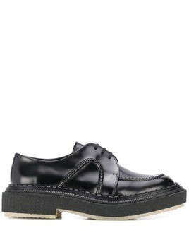 Adieu Paris thick sole Derby shoes - Black
