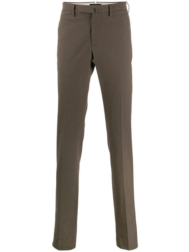Incotex slim fit tailored trousers - Brown