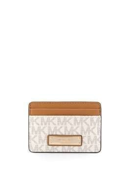 Michael Kors monogram cardholder - Brown