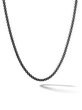 David Yurman Box chain necklace - Black