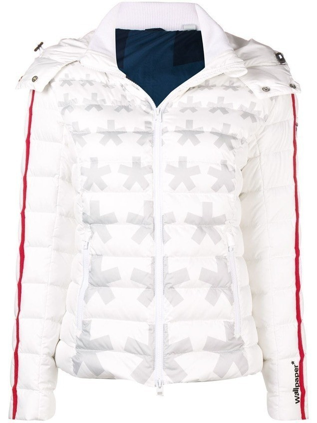 Rossignol Carolina Asterix padded jacket - White