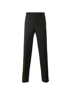 Givenchy striped trim trousers - Black