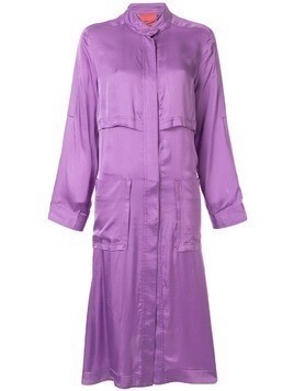 Manning Cartell zipped parka coat - Purple
