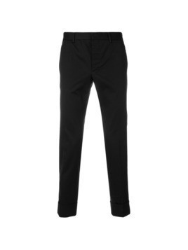 Prada classic chino trousers - Black