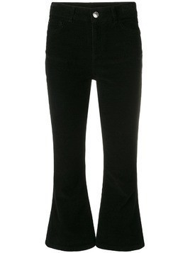 Twin-Set flared trousers - Black