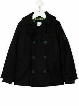 Boss Kids double breasted coat - Blue