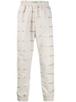 A-Cold-Wall* logo padded track pants - C444