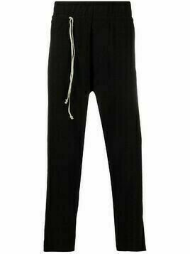 Daniel Andresen cropped track pants - Black