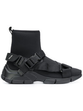 Prada sock sneakers - Black