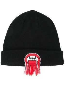 Haculla Lives patch beanie - Black