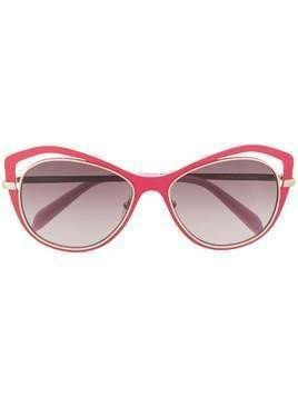 Emilio Pucci butterfly frame gradient sunglasses - PINK