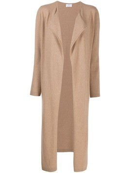 Allude long cardi-coat - Neutrals