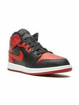 Nike Kids Air Jordan 1 Mid sneakers - Black