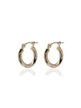 Loren Stewart 14kt gold huggie hoop earrings