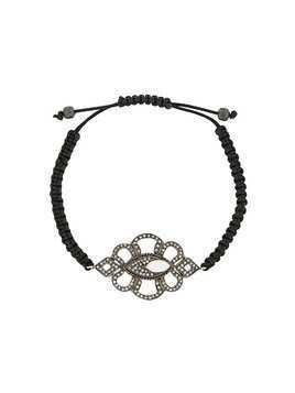 Gemco diamond charm bracelet - Black