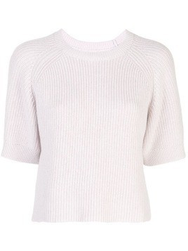 Apiece Apart ribbed knit jumper - PURPLE