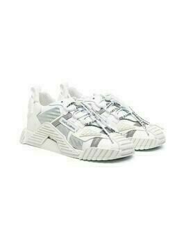 Dolce & Gabbana Kids DNA low-top sneakers - White