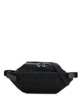 Côte&Ciel embossed belt bag - Black