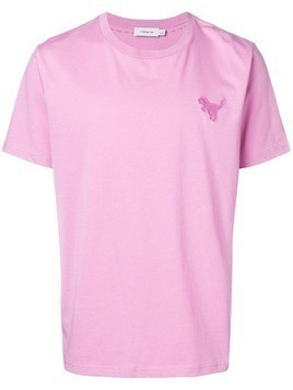 Coach dino logo T-shirt - Pink & Purple