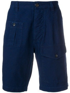 Denham six-pocket shorts - Blue