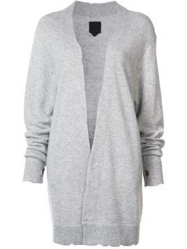 Rta cashmere distressed long cardigan - Grey