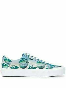 Opening Ceremony surrealist print trainers - Blue