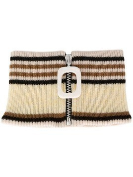 JW Anderson knitted neckband - Neutrals