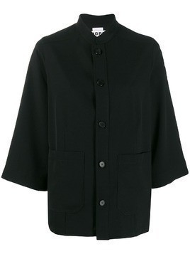 Hope buttoned shirt jacket - Black