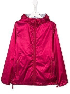 Ciesse Piumini Junior hooded short rain jacket - Pink