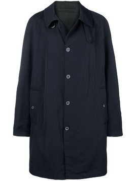 Lanvin single-breasted trench coat - Blue