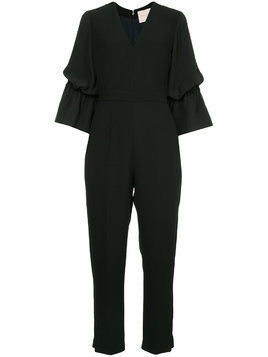 Roksanda wide sleeves jumpsuit - Black