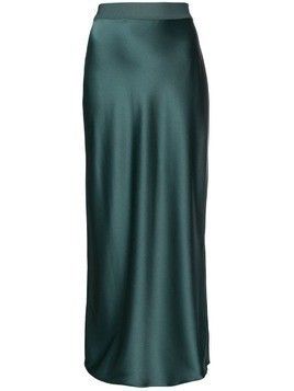 Theory high waisted long skirt - Green