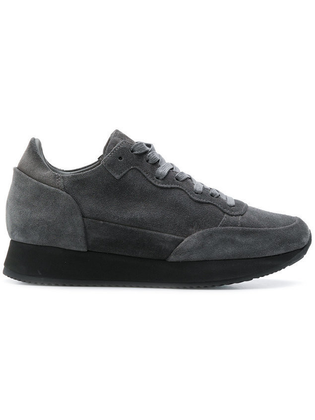 Philippe Model lace-up sneakers - Grey