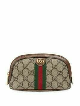 Gucci Ophidia GG makeup bag - Neutrals