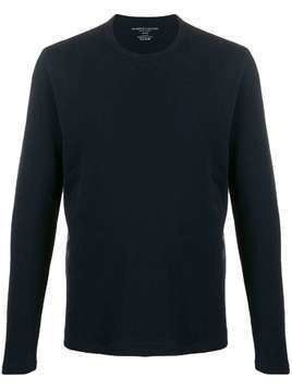 Majestic Filatures long sleeved cotton T-shirt - Blue