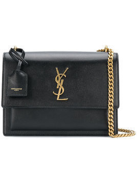 Saint Laurent Sunset chain bag - Black